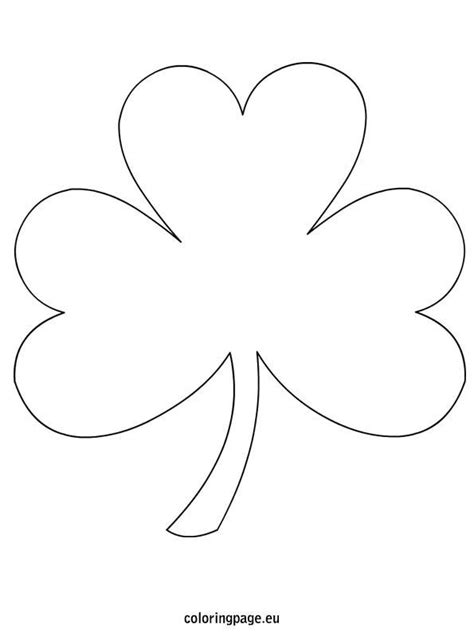 shamrock coloring page shamrock coloring page free from coloringpage eu lots of