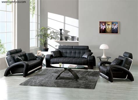 sofa design ideas black leather sofa decorating ideas