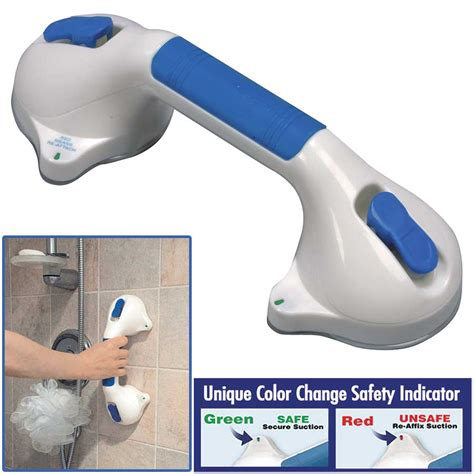 Bathroom Grab Bars With Suction Cups Economy Suction Cup Grab Bar Colonialmedical