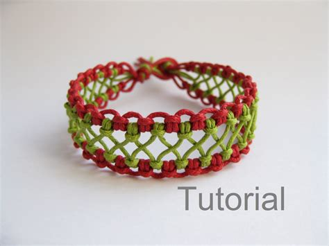 Macrame Bracelets Patterns - macrame bracelet pattern tutorial pdf green