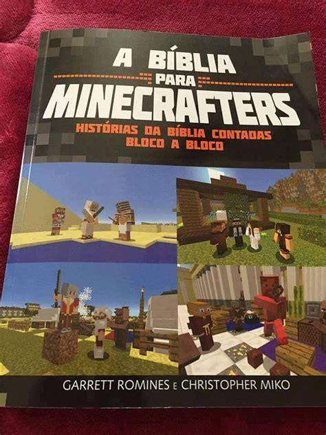 libro minecraft chistes para minecrafters b 237 blia vers 227 o minecraft 233 lan 231 ada para jogadores conhecerem o novo e velho testamento