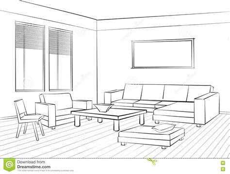 sketch room living room design room interior sketch interior furniture