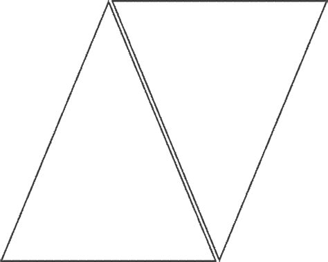 triangle banner templates  clipart