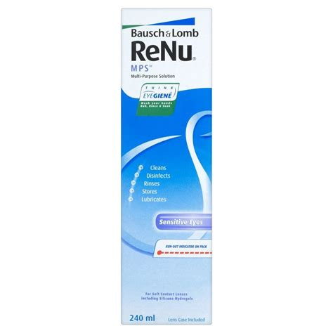 Mps A Multi Purpose Solution 100ml bausch lomb renu mps multi purpose contact lens solution