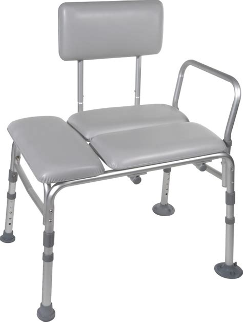 padded shower transfer bench adjustable bath transfer bench padded free shipping
