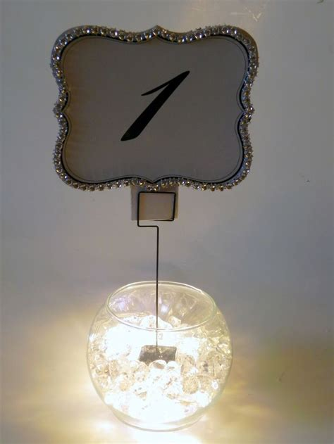 david tutera table number holders diy wedding and