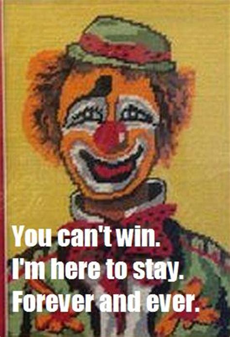 go to bed clown why i m scared of clowns