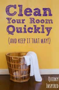 how to clean your room quickly and help it stay that way