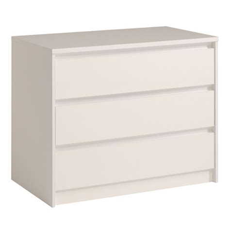 commode 3 tiroirs blanc commode 3 tiroirs ontario blanc brillant
