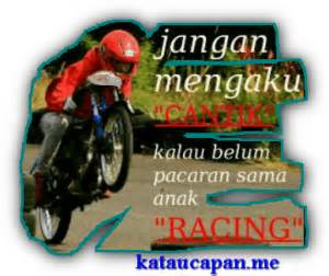 dp bbm romantis racing yoe