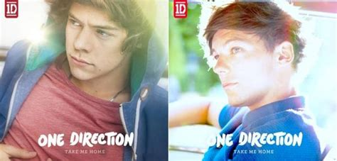 one direction s individual take me home album covers