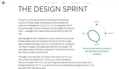 google design sprint adalah グーグル アイデアからプロトタイプの検証までたった5日で完了する課題解決メソッド デザインスプリント を公開