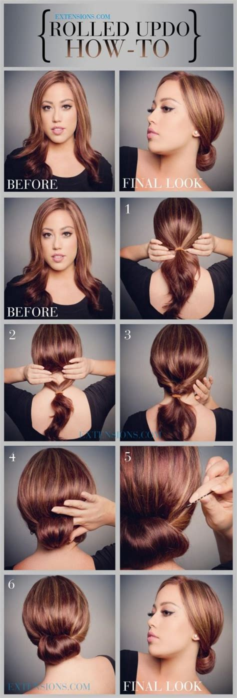 easy hairstyle how tos 12 trendy low bun updo hairstyles tutorials easy cute