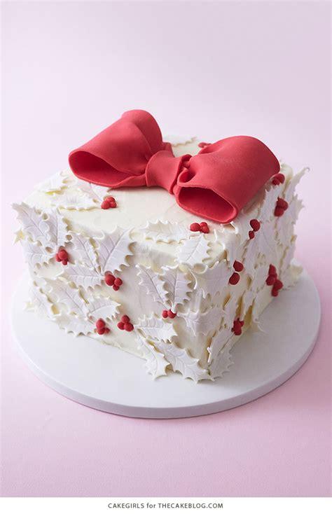 christmas gift box fondant cake gift box cake