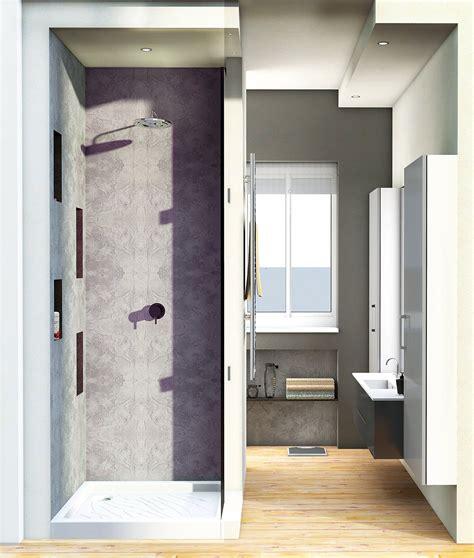 di nella doccia bagno con pianta progetto e costi dei lavori seconda