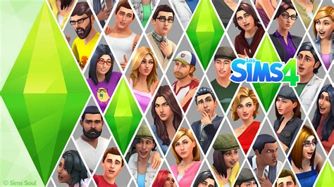 the sims the sims 4 wallpaper by sims soul sims community