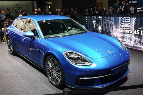 Porsche Panamera New by New Porsche Panamera Sport Turismo Revealed Pictures Evo