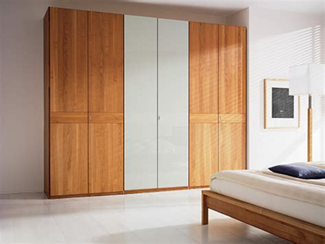 wooden bedroom wardrobes solid wood wardrobe by team 7 valore sliding door