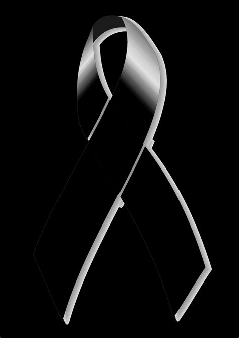 imagenes de listones de luto para facebook the gallery for gt black ribbon bow png