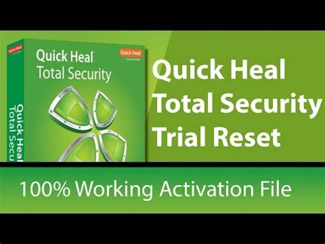 how to use quick heal resetter quick heal total security 2017 free license working trial