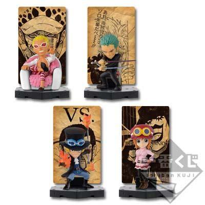 Ichiban Kuji Stand Sabo Japvers ichiban kuji one dressrosa battle hen card stand