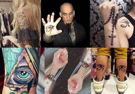 occhio di horus illuminati la moda di farsi tatuare l occhio di horus chi ha