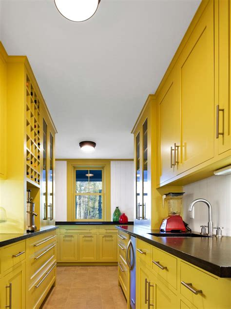 yellow kitchen cabinet 10 kitchens that pop with color kitchen designs choose