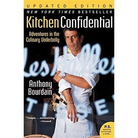 Kitchen Confidential Book Review Kitchen Confidential Adventures In The Culinary