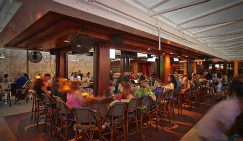 high tops bar and grill brimstone woodfire grill announces newly renovated outdoor