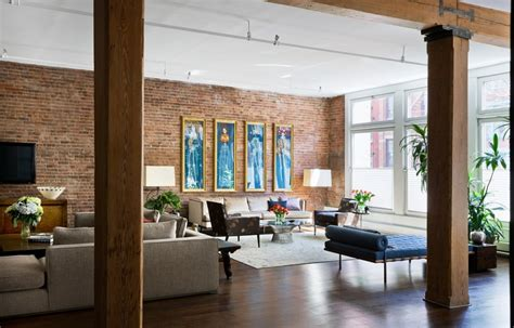 exposed brick apartments brick wall studio apartment inspiration