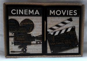 theater media cinema room theme 2 set picture wall