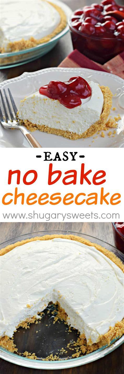 membuat no bake cheesecake no bake cheesecake shugary sweets