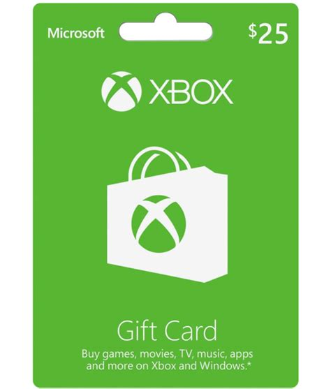 What Is Xbox Live Gift Card - xbox gift card 25 us email delivery mygiftcardsupply