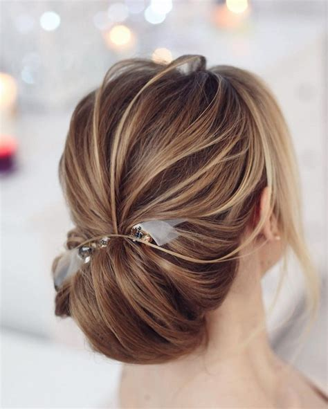 Wedding Hairstyles Chignon by Pretty Low Chignon Hairstyle For Hair Chignon