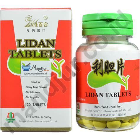 Lidan Tablets Obat Meredakan Penurun Panas Demam Lidan Tablets