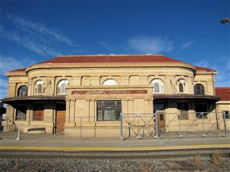 denver and grande western railroad depot grand