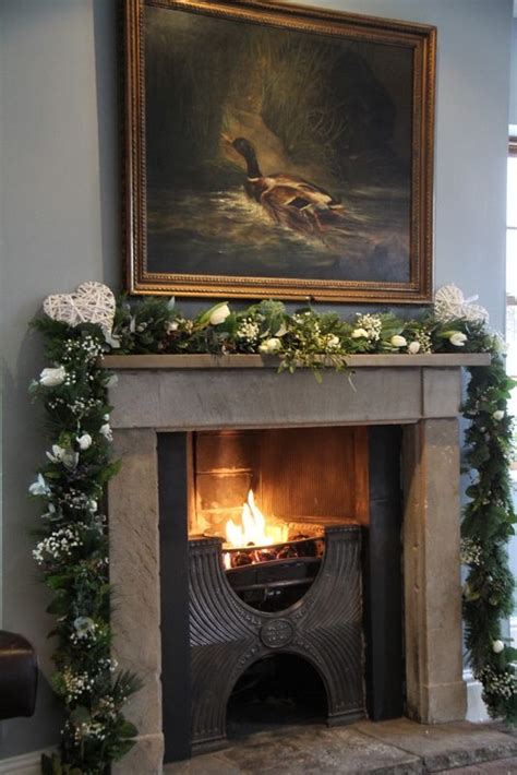 Garlands For Fireplace by 1000 Images About Fireplace Flowers Garlands On