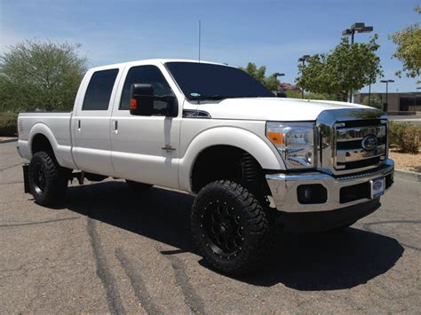 ford lifted 2013 white ford f250 lifted www imgkid com the image