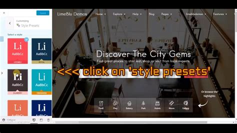 listable theme listable theme change overall style and colour of the