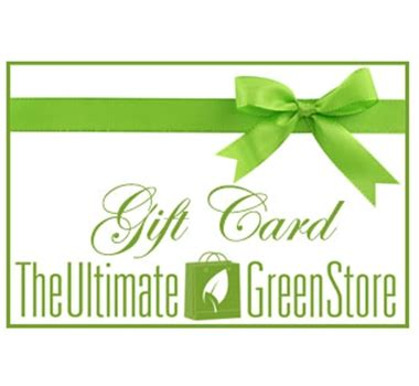 Ultimate Gift Card Sale - green gift cards the ultimate green store gift card