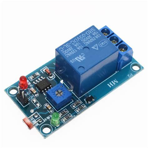 Cnc Photosenstive Light Ldr Resistance Sensor Cahaya Module Arduino 5v light photoswitch sensor switch ldr photoresistor relay module light detection photosensitive