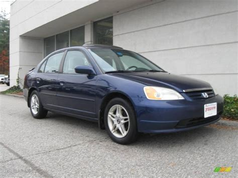 2001 eternal blue pearl honda civic ex sedan 20732634 gtcarlot car color galleries