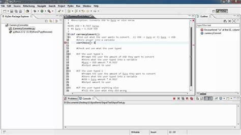 Currency Converter Python | making your first python script currency converter youtube