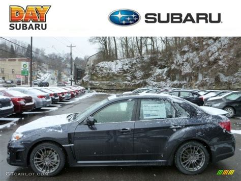 wrx subaru grey 2013 dark gray metallic subaru impreza wrx limited 4 door