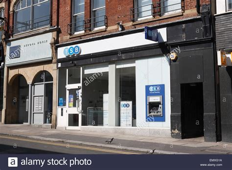 tbs bank uk branch of tsb bank in sheffield city centre stock photo