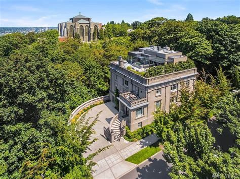 Queen Anne House Plans Historic The Sam Hill Mansion Is Seattle S Most Expensive Home