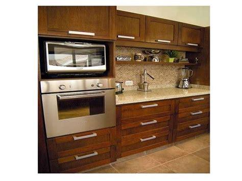 foto mueble de cocina mueble porta horno  microonda de