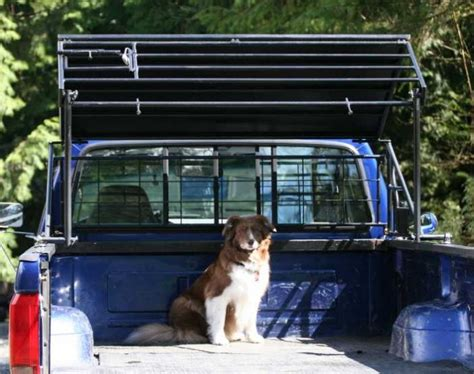 truck bed dog kennel image gallery truck kennels