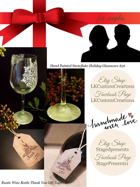 2014 quot handmade with love quot holiday gift guide stage presents