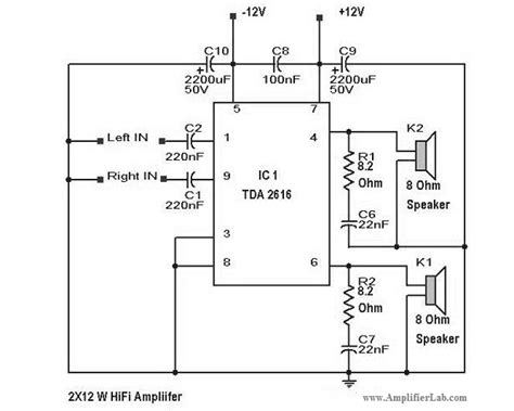 Power Lifier Sound System home theater circuit diagram wiring diagram